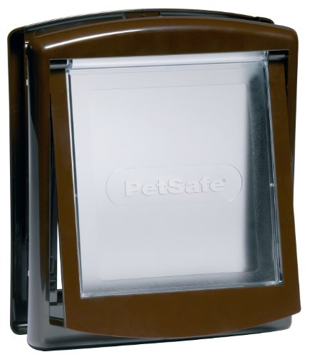 Preisvergleich Produktbild Petsafe Staywell Original 2 Way Pet Door Brown Small