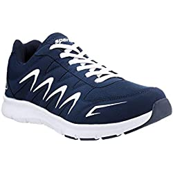 Sparx Men's Navy Blue and White Running Shoes - 8 UK/India (42 EU)(SX-276)