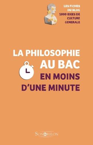 La philosophie au Bac en moins d'une minute
