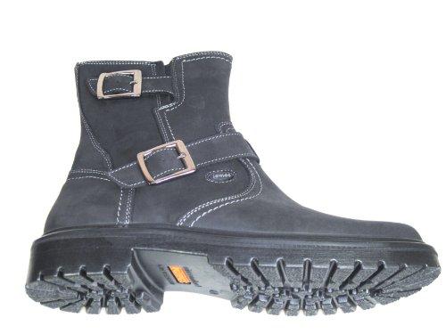 Jomos , Boots biker homme Noir - Noir