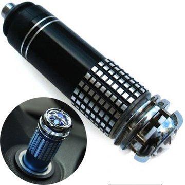 ZGUO Auto Luftreiniger Frischer Auto Feuerzeug Energieversorgung Negativ Ion Ozon-Generator für entfernen Smoke/Geruch/10 Minuten/Bakterien