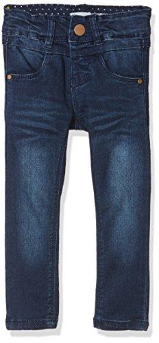 NAME IT Baby-Mädchen NKFPOLLY DNMTRILLE 3001 Pant NOOS Jeans, Blau (Dark Blue Denim), 104