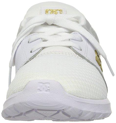 DC - donne-heathrow SE scarpa Bianco, oro