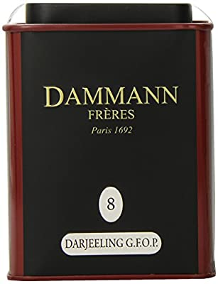 Thé Darjeeling G F O P n°8 - Thé Noir d'Inde - Dammann Frères