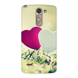 Impressive Couple Heart Back Case Cover for LG G3 Stylus