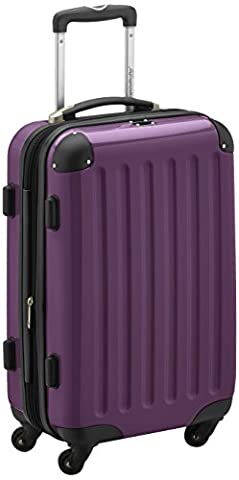 HAUPTSTADTKOFFER - Alex - Carry on luggage Suitcase Hardside Spinner Trolley Expandable 55 cm