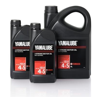 Yamalube 4 Stroke Motor Oil (Semi-Synthetic) - 4L