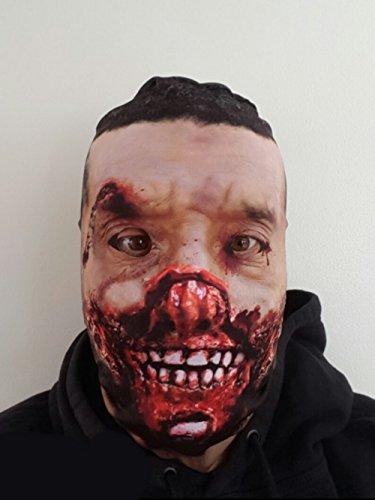 Zombie realistisch Bedruckte Lycra Full Head Face Maske für Halloween (Realistische Zombie Masken)