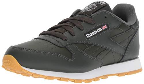 Dark Gum Schuhe (Reebok- - Klassiches Leder Baby Mädchen Unisex-Kinder, Orange (Gum-Dark Cypress/White), 26.5 EU)