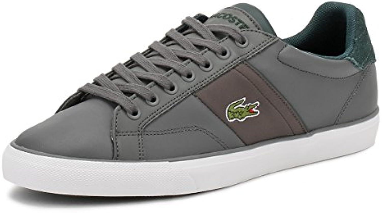 Lacoste Herren Dark Grau Fairlead 317 2 Sneakers