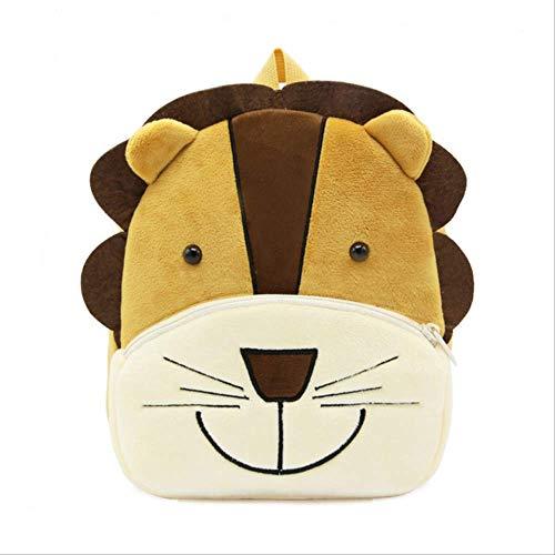 Schultasche für KinderPlüschkinder Rucksack Kindergarten Schultasche 3D Cartoon-Tier-Kinder-Rucksack Kinderschulsack Girl Junge 27cm*24cm*11cm Bild-Farbe