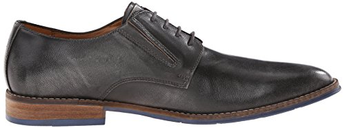 Hush Puppies Mens Style Oxford Grey Smooth Leather