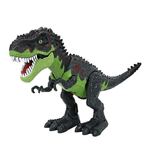 Bnineteenteam Walking Dinosaurier, Tyrannosaurus Dinosaurier Spielzeug mit Lichtern & Sounds für Kinder Jungen Mädchen - Kinder Dinosaurier-spielzeug Für