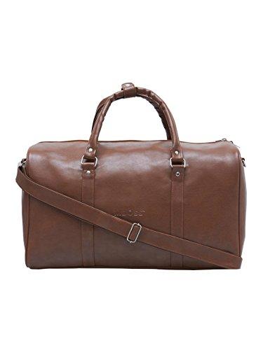 bb7f6672927 MBOSS Tan 37 Liter Faux Leather Duffel Tote Gym Travel Bag TB 014 TAN ...