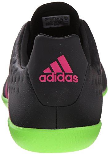 Adidas Performance Ace 16,3 Indoor Chaussure de football, noir / vert choc / choc Rose, 6,5 M nous Black/Shock Green/Shock Pink