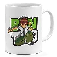 Ben 10 Green 11oz Coffee Mug Children Art 11oz Ceramic Novelty Mug
