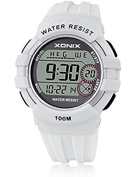 LEDLeuchtende Sport wasserdicht multifunktionale elektronische Uhren-D
