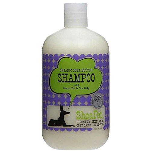 SheaPet Pet Shampoo, 532ml, Butter grüner Tee und Seetang (Shea-butter Und Grünem Tee)
