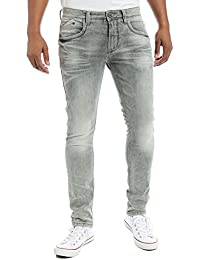 "Timezone Costellotz ""2085 Light Grey Wash"" - Jeans - Skinny - Homme"