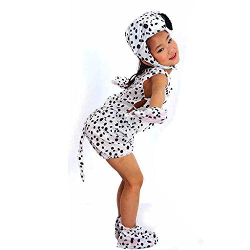 Wgwioo Kindertier Performance Tanz Kostüme Kindergarten Welpen Hund Sammlung Kinder Kostüm Schule Spiel Party Kleidung . 1# . (Harem Kostüme Hund)