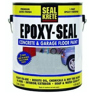 Epoxy-Seal Concrete And Garage Floor Paint by Seal Krete