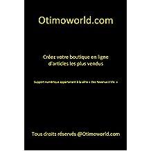 Créer une Boutique en Ligne des Articles les plus vendus sur Internet (French Edition)