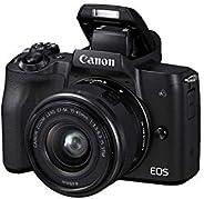 Canon M50 EOS M15-45 IS STM-KIT Digital Camera - Black