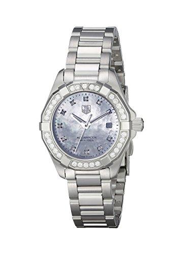 Tag Heuer way1414.ba0920–Montre bracelet pour femme, bracelet en acier inoxydable couleur argent