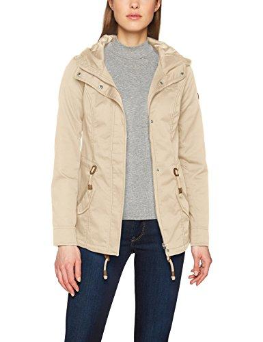 ONLY Damen Onlnew Lorca Spring Parka Jacket CC Otw, Grau (Feather Gray Feather Gray), 38 (Herstellergröße: M)