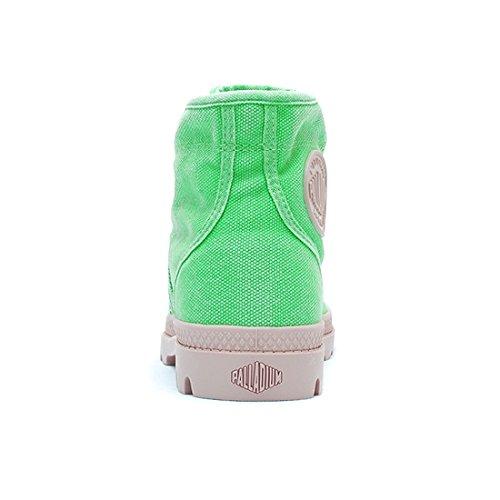 Palladium 92477-320-M, Boots femme Vert