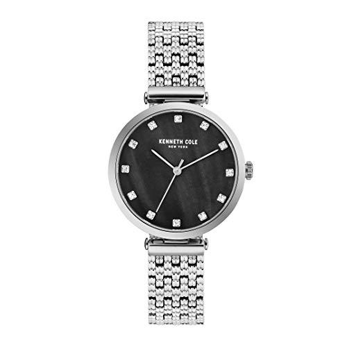 Kenneth Cole New York Mujer Reloj De Pulsera Analógico Cuarzo Acero Inoxidable kc50256001