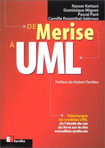De Merise à UML par Nasser Kettani, Dominique Mignet