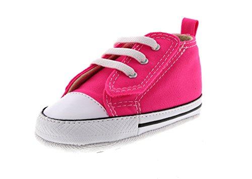 CONVERSE Baby - FIRST STAR EASY SLIP HI 857429C - pink, Größe:20 EU (Star Schuhe Hi Mädchen)