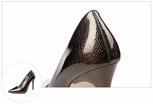 FLYRCX Personalità shallowly eleganti tacchi alti sexy tacchi sottili e ladies' party scarpe B