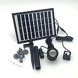 HUANGYABO Solar Panel Batterie 9 V 5 Watt Hochwertige Solar Wasserpumpe Landschaft Pumpe