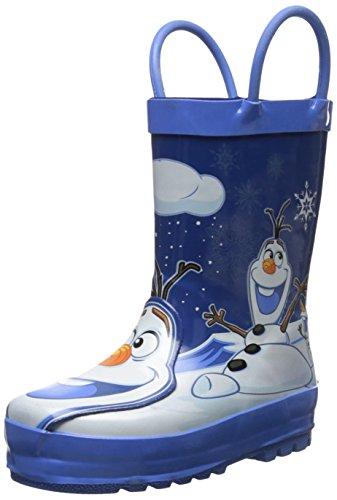 Principais Botas De Borracha Disney Congelado Olaf Chuva Ocidentais Azul