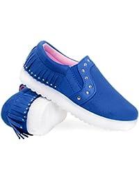 Envy London Zapatillas Para Mujer, Color Rosa, Talla 31 EU