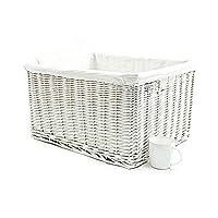 topfurnishing Big Huge Deep Children Kids Baby Nursery Storage Wicker Basket Toy Box Organiser