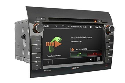 """ZENEC Z-E3726 Naviceiver mit GPS Navigation für Caravan zur Nachrüstung für Fiat Ducato, Citroen Jumper, Peugeot Boxer + passgenauer Einbau + Autoradio mit Multituner System für störungsfreien Empfang von FM, DAB+ und TMC + Reisemobil Navi Software iGO Primo NextGen mit EU-Kartenpaket für 47 Länder + 1 Jahr Kartenupdate kostenlos + 7\"""" / 17.8cm Touchscreen + Bluetooth + CD/DVD Player + USB Medienverwaltung von Gracenote + made for iPod und iPhone + nachrüsten in Reisemobile mit Radio Vorbereitung"""