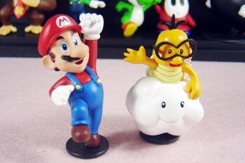 """18Pcs Set 1-3"""" Super Mario Bros Figure Toy Doll Pvc Figure Collectors By Sanlise 6"""