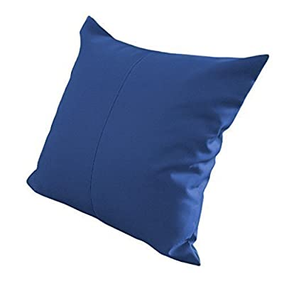 "Blue Water Resistant Outdoor Filled 18"" Garden Furniture Cushion - cheap UK light store."