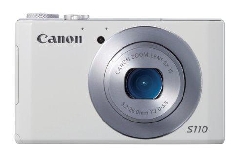 Canon PowerShot S110 Digitale Kompaktkamera (12,1 Megapixel, 5-fach opt. Zoom, 7,6 cm (3 Zoll) Display, Full HD, HDMI) - Neueste Kamera Digital Canon