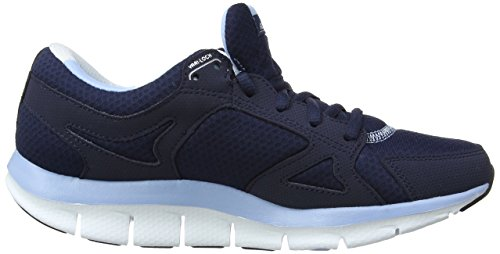 Skechers - Sandali, Donna Blu (Navy Light Blue)