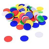 Istloho-200x-Zhler-Zhlen-Chips-Spielchips-Bingo-Marker-Kunststoff-fr-Mathematik-Oder-Spiele-Mehrfarbig