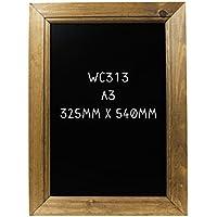 Dark Oak A3 Framed Blackboard 450 x 327mm - Rovere Telaio Lavagna