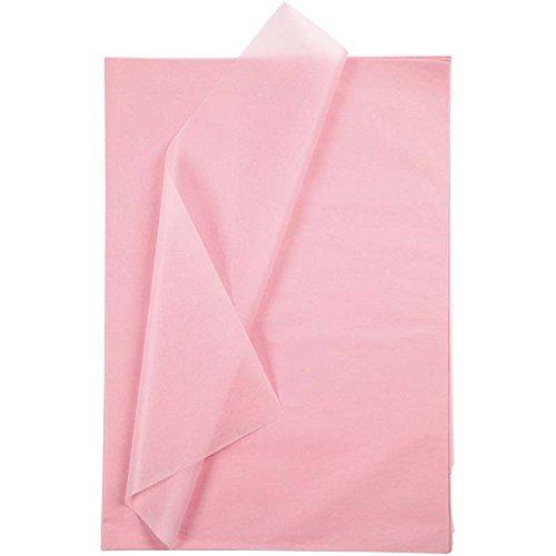 Seidenpapier, Blatt 50x70 cm, 14 cm, rosa, 25Blatt thumbnail