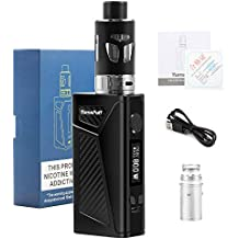 Cigarrillo Electronico Kit, 100W Huge Vapeador YumaPuff Falcon Kit Cigarrillos electrónicos, 2000mAh Batería Recargable