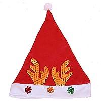 HEJIANGTAO Sombrero Adulto Sombrero de Santa con Casco, Sombrero para Adulto