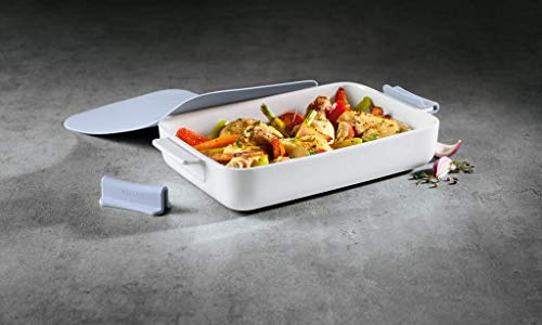 Villeroy & Boch Clever Cooking Rechteckiges Backform-Set, 4-teilig, 30 x 20 cm, Premium...