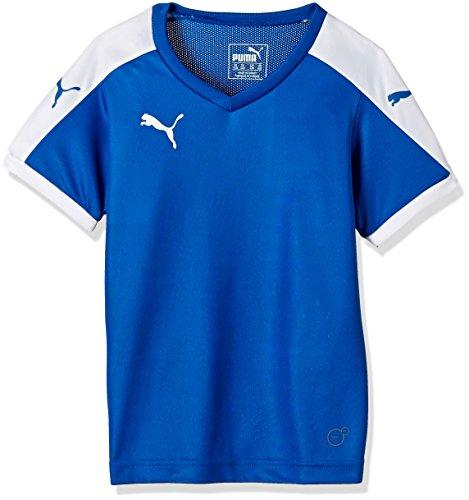 Puma Unisex-Kinder T-Shirt Pitch, Puma Royal-White, Gr. 9-10 Jahre (Herstellergröße: 140) (Shirt Fußball-jungen)